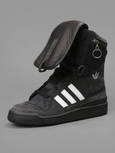 c52a34c4884 Adidas by Jeremy Scott tall boy high top sneaker with zip pocket at top   adidasbyjeremyscott