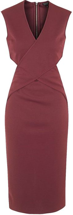 womens burgundy pencil skirt from new look 163 12 99 at
