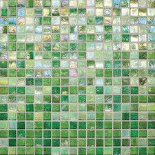 Backsplash Tile - Use: Backsplash Tile, Color: Green-Purple | Wayfair