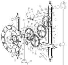 The Tool Crib – 7 Free Wooden Gear Clock Plans for You Eccentric, Masochist Woodworkers