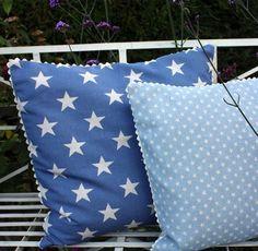 Sarah Hardaker - star cushions