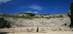 The Greek theater, famous quarry, and Roman ruins in Siracusa (Syracuse) This vast archaeological park contains Siracusa's greatest concentration of ruins.