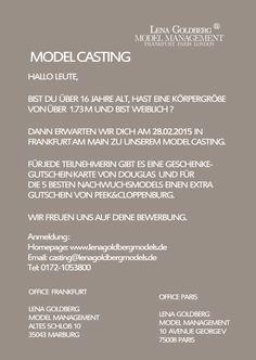 Model Casting 28.02.2015
