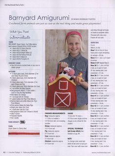 Crochet today! february march 2014 by พิชญ์ บุญ - issuu
