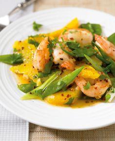 Rezept für Orangen-Garnelen bei Essen und Trinken. Ein Rezept für 2 Personen. Und weitere Rezepte in den Kategorien Gewürze, Kräuter, Meeresfrüchte, Obst, Schalen- und Krustentiere, Hauptspeise, Braten, Kochen, Einfach, Schnell, Hülsenfrüchte.