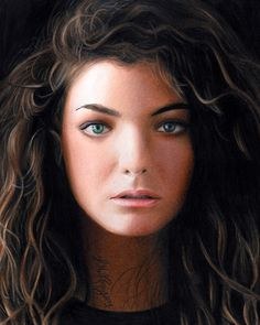 Lorde drawing from heather rooney... I hope I can will like her.