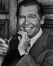 """Milton Berle 1908 - 2002. """"Experience is what you have after you've forgotten her name."""" Passed away in his sleep from colon cancer at the age of 93."""