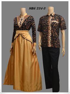 Baju Batik  AllBatik  Pinterest  Modeller