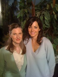Erica Durance & Annette O'Toole - smallville Photo
