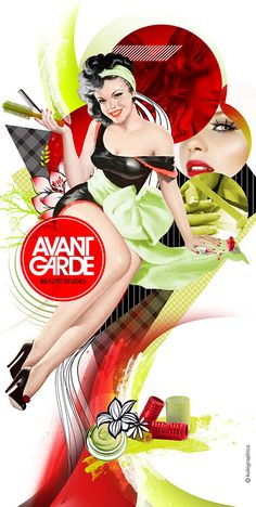 Retro Illustrations – Visual Nostalgia. Avant Garde by kuki