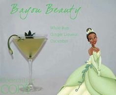 We are loving these Disney inspired cocktails by Cody from Cocktails by Cody. They'd make a great addition to an adult Disney themed party! Disney Cocktails, Disney Themed Drinks, Party Drinks, Cocktail Drinks, Fun Drinks, Yummy Drinks, Mixed Drinks, Alcoholic Beverages, Liquor Drinks