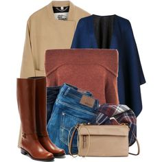 Winter Layers by colierollers on Polyvore featuring Gestuz, Burberry, Diesel, Rupert Sanderson, Tumi, Carolina Bucci, rag & bone and GANT
