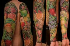 Fruit Sleeve! Not as detailed as mine but still well done.  I like the design in the background.