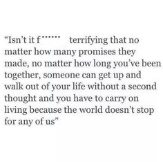 Sadly enough… you have to carry on without them