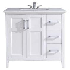 "Found it at Wayfair - Winston 36"" Single Bathroom Vanity Set http://www.wayfair.com/daily-sales/p/Best-Sellers%3A-Bathroom-Storage-Solutions-Winston-36%22-Single-Bathroom-Vanity-Set~QSI1115~E18950.html?refid=SBP.rBAZEVTY9ExmbgW5-kWIAgw4A9O9RE_ykimMXnlYovA"