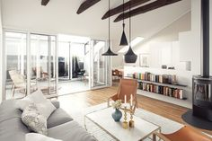 Inspiring Small Living Rooms-45-1 Kindesign