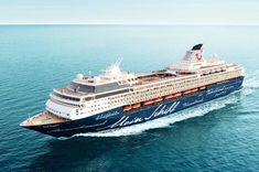 "Gharieni on board on '""Mein Schiff Operated by TUI cruises . More is coming Tui Cruises, Cruise Ships, Boats, Chill, Traveling, Mediterranean Sea, Singapore, Tours, Vacations"