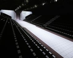 Stage Design // Catwalk // Runway // Victor Rolf SS2014