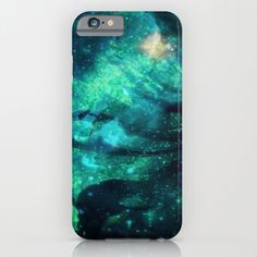 Turquoise Stars and Ribbons iPhone & iPod Case by Minx267