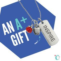 Happy back to school! Check out these awesome tags and lockets for great gifts!
