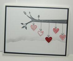 Stampin' Up!, valentines, take care, language of love  www.carolpayne.stampinup.net