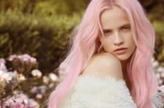 Pretty in pastel pink.