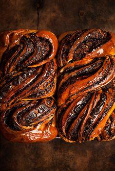 Chocolate Babka, Chocolate Filling, Pastry Recipes, Baking Recipes, Food Business Ideas, Babka Recipe, Types Of Bread, Jewish Recipes, Sweet Bread