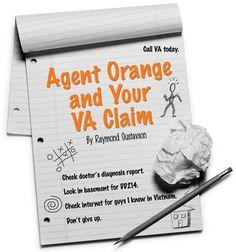 Vietnam Veterans - Agent Orange & your V.A. Claim