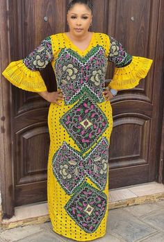 African Party Dresses, Short African Dresses, Latest African Fashion Dresses, African Print Dresses, African Wear, African Attire, African Print Dress Designs, African American Fashion, Kaftan Style