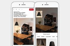 Pinterest starts expanding its visual search tools to video Video has generally been available  and is often shared  on Pinterest but it hasnt quite received the same treatment that the companys traditional content has seen.  Over the next few months however that will be changing. Pinterest is starting to test ways to get video running directly on its services including building anative video player. And beyond that its going to start implementing its visual search tools on those videos…