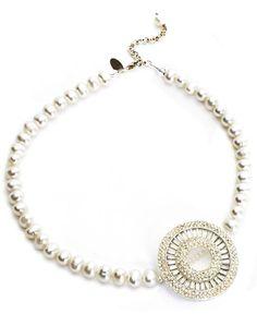 Vintage Bridal Necklace. Simple and elegant.