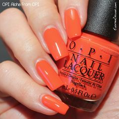 OPI Aloha From OPI, Hawaii Collection Spring 2015