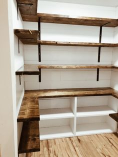 Küchen speisekammer Farmhouse Pantry renovation How To Balance Working At Home And Raising Your Kids Pantry Shelving, Pantry Storage, Pantry Organization, Pantry Ideas, Shelving Ideas, Pantry Diy, Refrigerator Storage, Pantry Room, Walk In Pantry