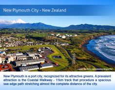 New Zealand Cities, Come And See, Walkway, Plymouth, Stretching, Travel Guide, Distance, Paths, Attraction