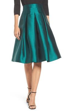 Eliza J Release Pleat Full Skirt available at #Nordstrom