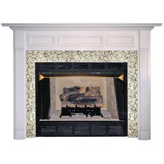 Column pilaster with capital Cast Stone Fireplace Mantels square ...
