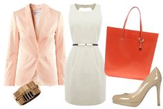 Pink Blazer Outfit 1