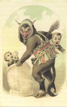 Krampus, Oh my gosh it's real. Dwight was telling the truth!
