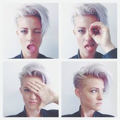 Group of: Undercut with Lilac Top | Short Hair <3 | Pinterest | We ...