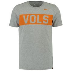 Tennessee Volunteers Nike Confidence Tri-Blend T-Shirt - Heather Gray