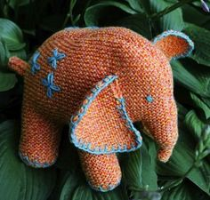 There are so many reasons to love this adorable knit stuffed animal pattern. Flo the Elephant is a whimsical, cuddly little creature your baby, toddler, or young child will adore.