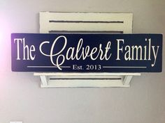 Family established sign by AinsleyRaes on Etsy, $38.00