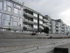 Västra Hamnen, Malmö. Nice architecture in this area.