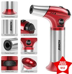6 Best Kitchen Torch for 2019 Easy Guide - High End Kitchens, Cool Kitchens, Bubble Popper, Creme Brulee Torch, Kitchen Torch, Drip Tray, Quality Kitchens