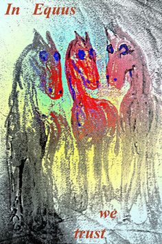 in Equus we trust My Horse, Horses, Character Types, Framed Prints, Canvas Prints, What Goes On, Cool Posters, Famous Artists, Concept Art
