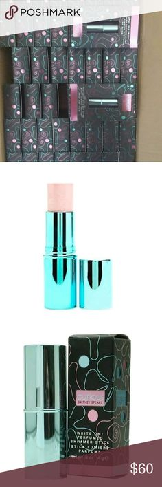 COSMETICS WHOLESALE BRITNEY SPEARS X10 About the Product PERFUMED SHIMMER STICK .5 OZ Fragrance Notes: tuberose, magnolia, sandalwood, vanilla infused musk, pear, and jasmine. Other