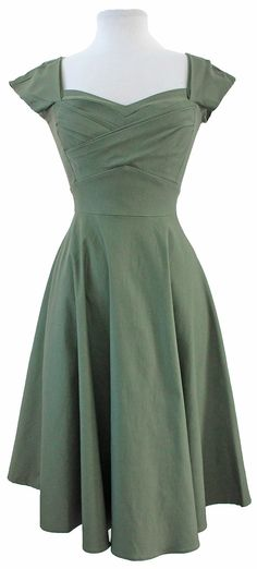 Stop Staring! Mad Style Swing Olive Green
