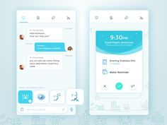 My next challenge is to explore visual style for medical app. Feel free to leave some feedbacks, guys! :)  Thanks and press L for some love  Follow me for more updates! behance | Linkedin | Faceboo...