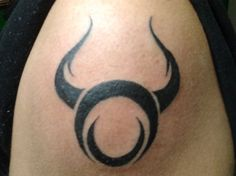 As the symbol of Taurus zodiac sign is a bull, sometimes it is chosen as an alternative for zodiac tattoo. Description from tattoopictures.ru. I searched for this on bing.com/images