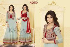 Style: Anarkali SuitWork: Embroidered, Zari WorkFabric: Georgette